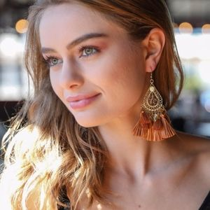 Jewelry - Boho Dangle Tassel Earrings